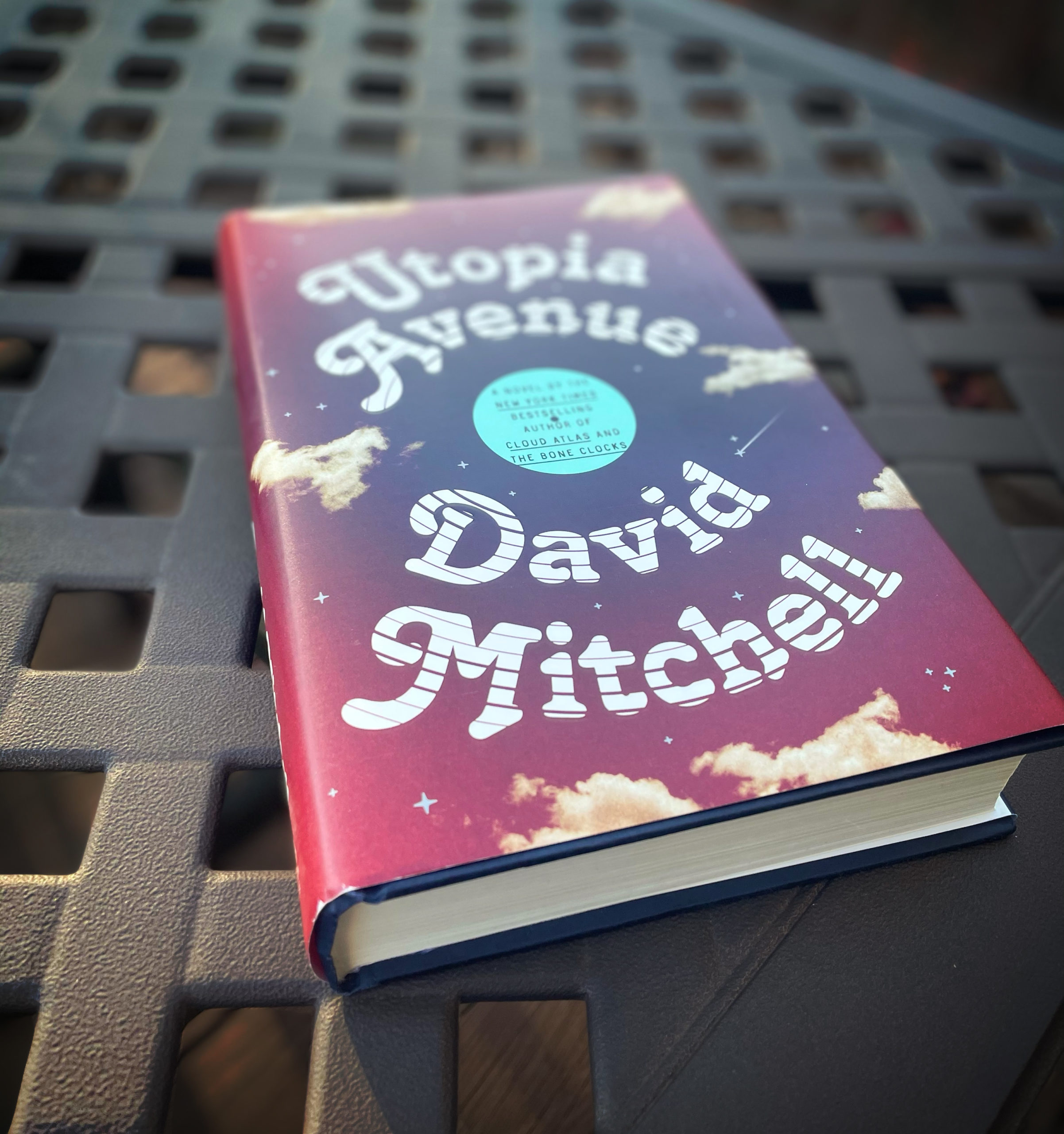 Currently reading Utopia Avenue